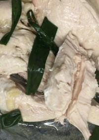 ホットクックでサラダチキン・蒸し鶏ムネ肉