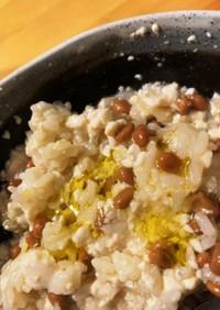豆腐とオリーブ油で超簡単ダイエット飯