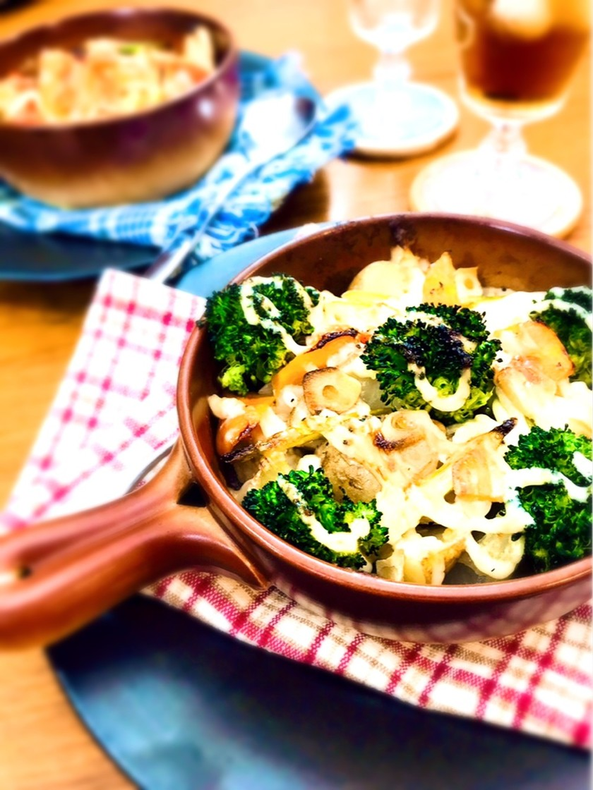 鶏胸肉とお野菜のマヨグリル