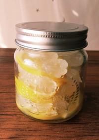 冬の保存食☆レモンシロップ