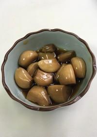 にんにくの醤油漬け(にんにく醤油)