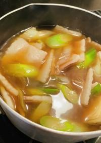 【冬に食べたい地元の味】肉汁うどんのつゆ