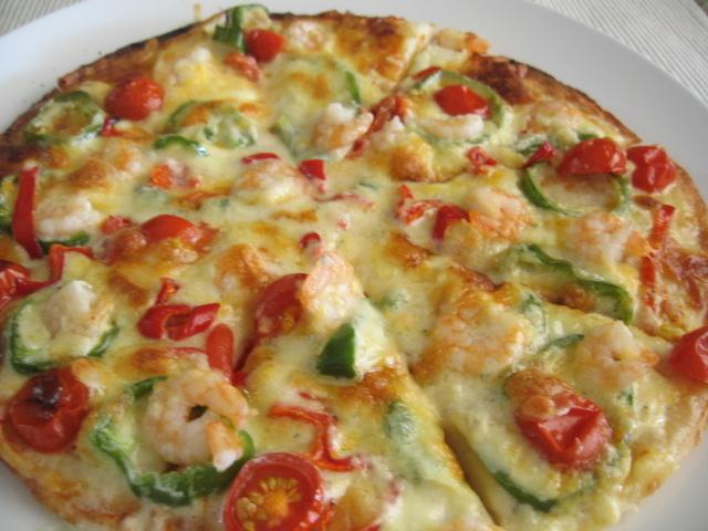 【コストコ】 冷凍ピザでオリジナルピザ