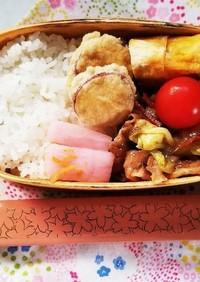 野菜炒め弁当(1.25)