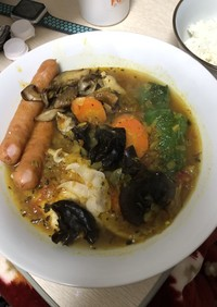 簡単スープカレー