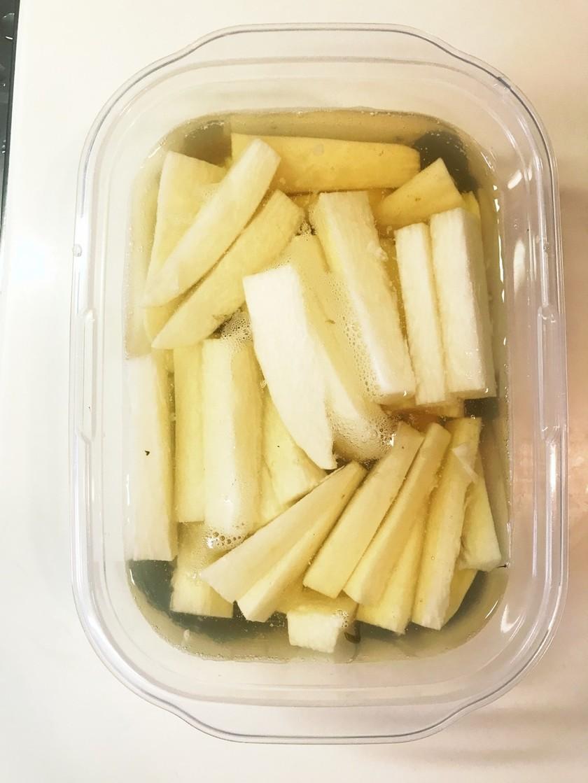 白だしベースの野菜のお浸し