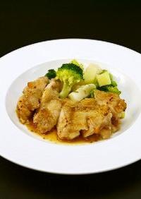 鶏肉のはちみつマスタード焼き