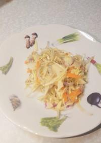 千切りキャベツの和風サラダ