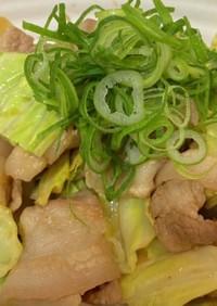 簡単 豚野菜炒め