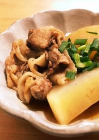 簡単☆大根と豚肉の煮物