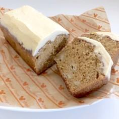 トッピングに*きな粉チーズクリーム