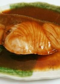 ぶりの味噌煮