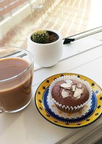 1ボウルでココアカップケーキ