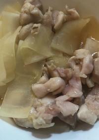 減量飯 レンジで簡単 ぷりぷり鶏もも肉