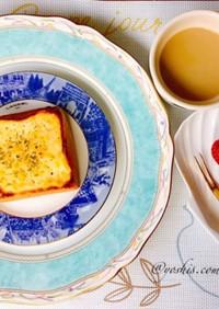簡単チーズトースト(パン料理)  ^_^