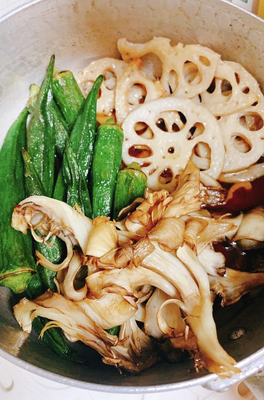 素揚げ野菜のおひたし