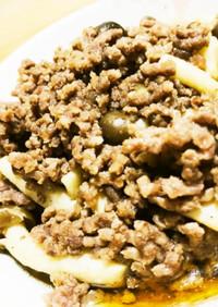 【丼にも◎】シメジと合い挽き肉の中華炒め