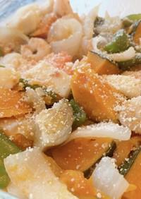 減塩時短野菜をたっぷり食べたい人のおかず