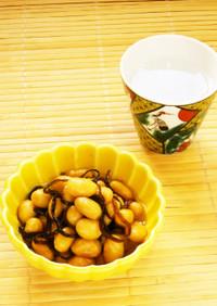 ☺簡単おつまみ♪水煮大豆のオイル煮☺
