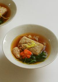 お正月の定番お雑煮の大豆ミート入りレシピ
