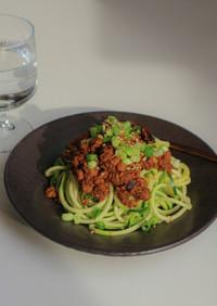 新提案☆【ズードル】のソイ肉味噌担々麺