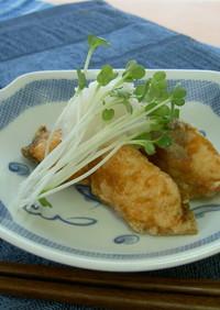 鮭の唐揚げレモンおろし (透析食)