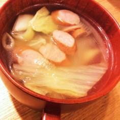 白菜エキスたっぷり!白菜メインスープ
