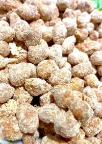 フライパンで和えるだけ簡単きな粉豆