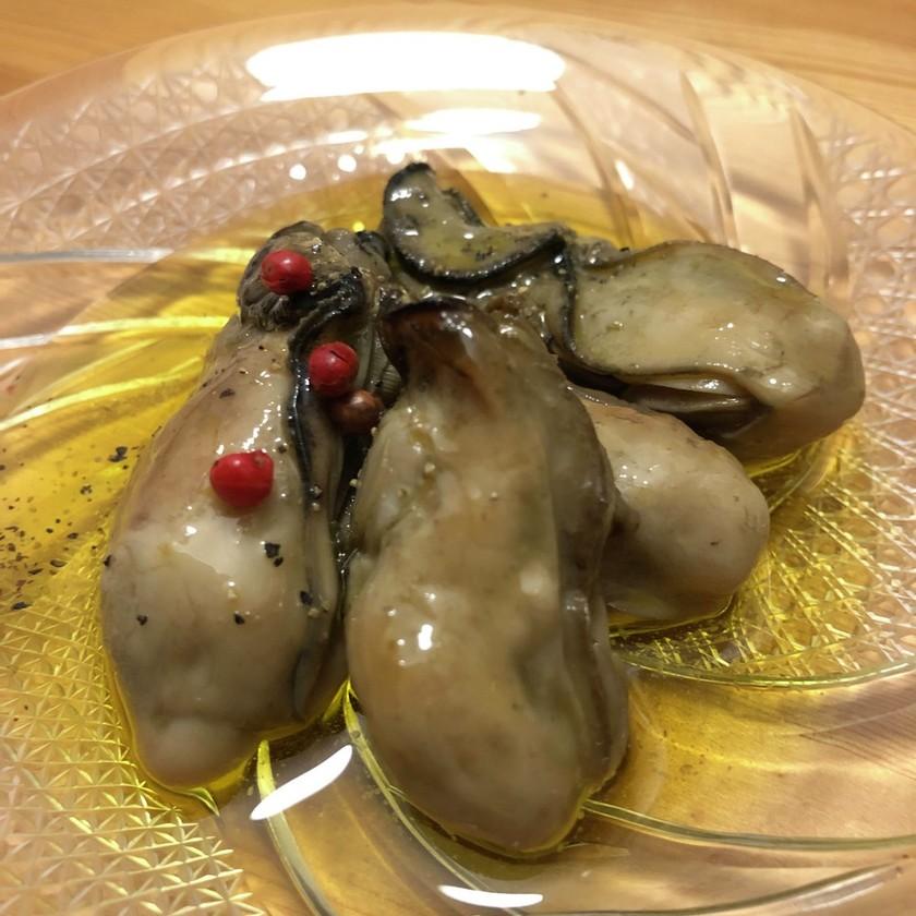 日本海の味!佐渡産牡蠣を使ったオイル漬け