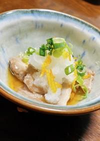 簡単 ナマコの下処理✨柚子風味 三杯酢