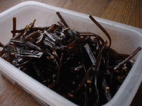 昆布の佃煮「紫蘇胡麻風味」
