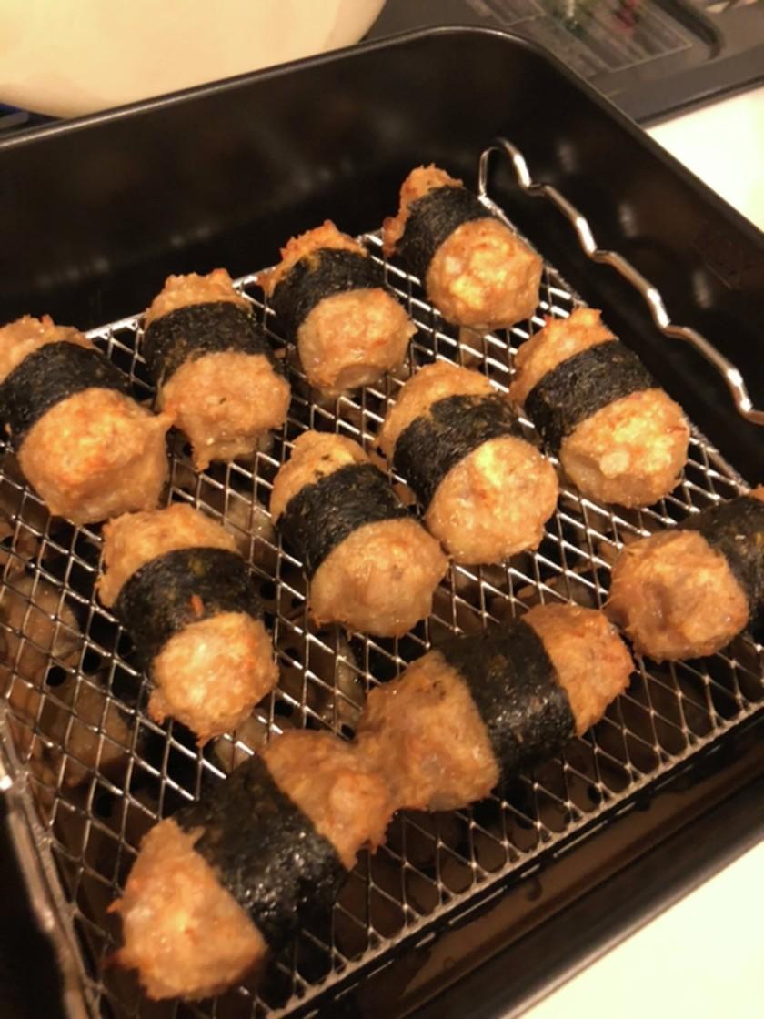 鶏ひきれんこんの海苔巻