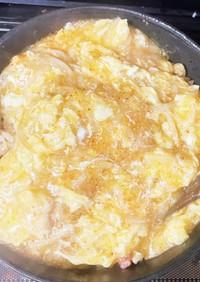 きな粉のピリ辛タマゴあんかけ炒飯・五芒星
