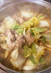 簡単!鶏肉と白菜の炊いたん