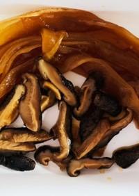 簡単☆かんぴょうと干し椎茸の甘辛煮