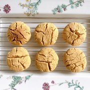 おから*さくほろピーナッツバタークッキーの写真