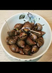 粒貝の煮付けです。