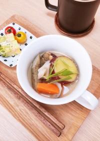 根菜とさつま芋のお味噌汁★簡単作り置き