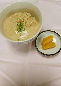 いも汁(上越産自然薯のとろろご飯)