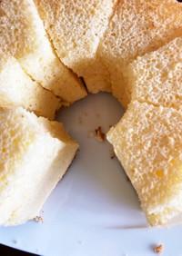 簡単フワフワシフォンケーキ