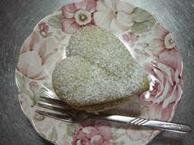 ☆抹茶のハートケーキ☆
