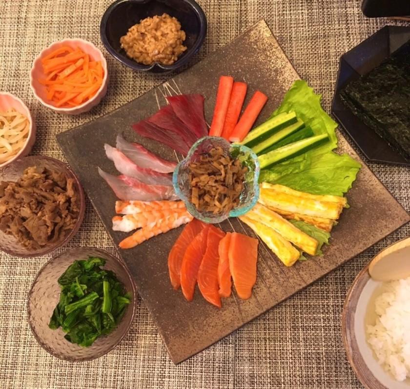 【節分】手巻き寿司