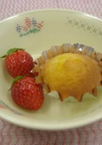 簡単給食 ガレットデロワ風カップケーキ