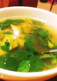 クレソンとじゃがいものスープ