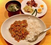 ドライカレー^_^タロの弁当 晩ごはん編の写真