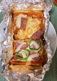 好きな具材で、なんちゃってピザ!!