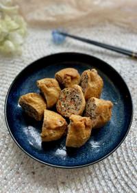 お弁当にもおすすめ〜鶏ひき肉の袋煮