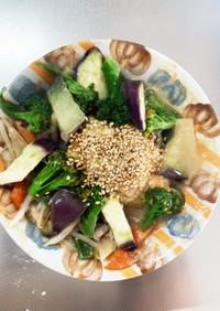 豆腐バーグ入和風クリームパスタ味ドーム蒸