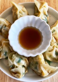 肉無しとは思えない豆腐餃子!