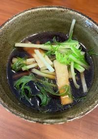 【大量消費】水菜のしゃぶしゃぶ